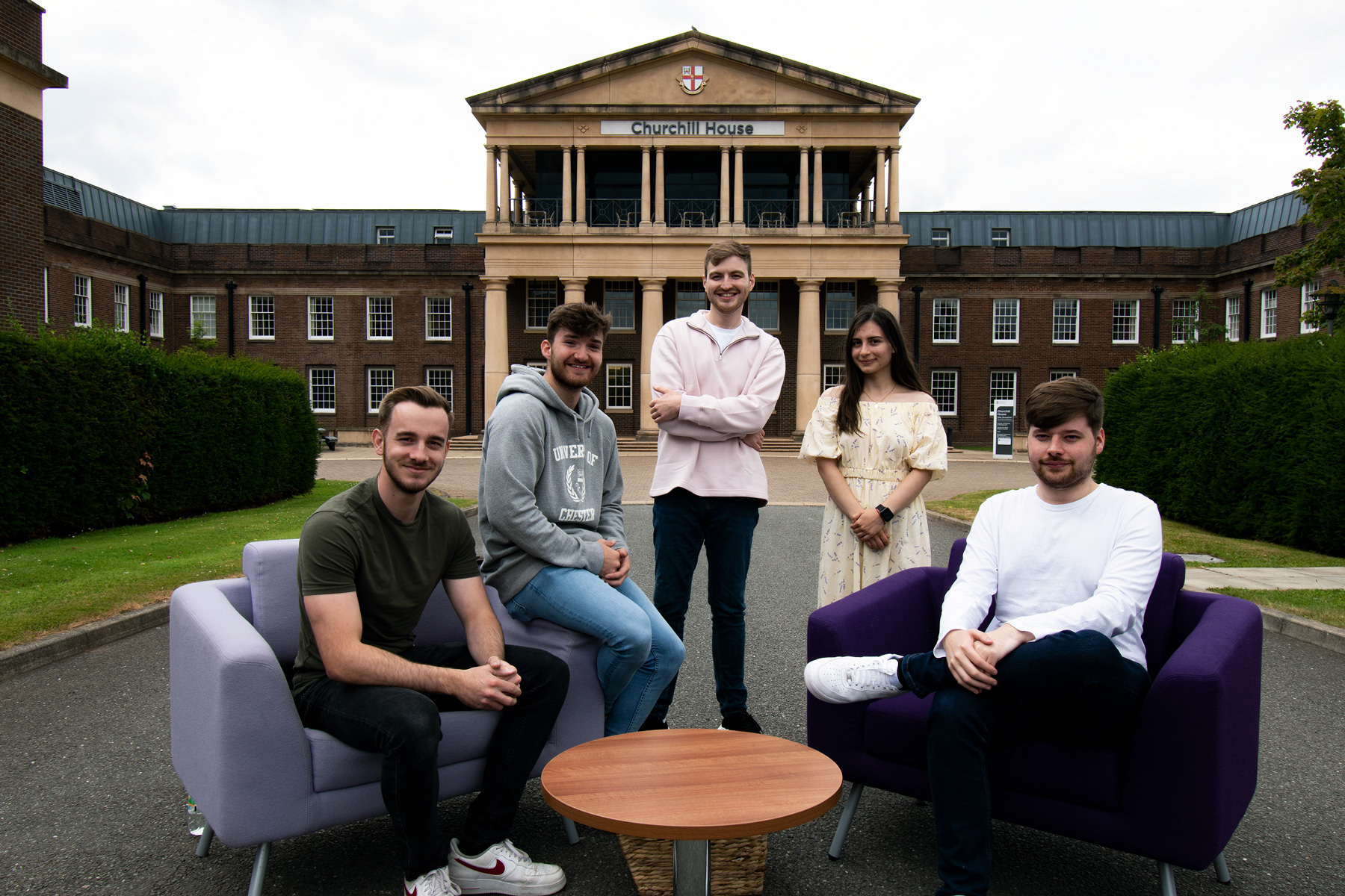 Students at Chester Business School
