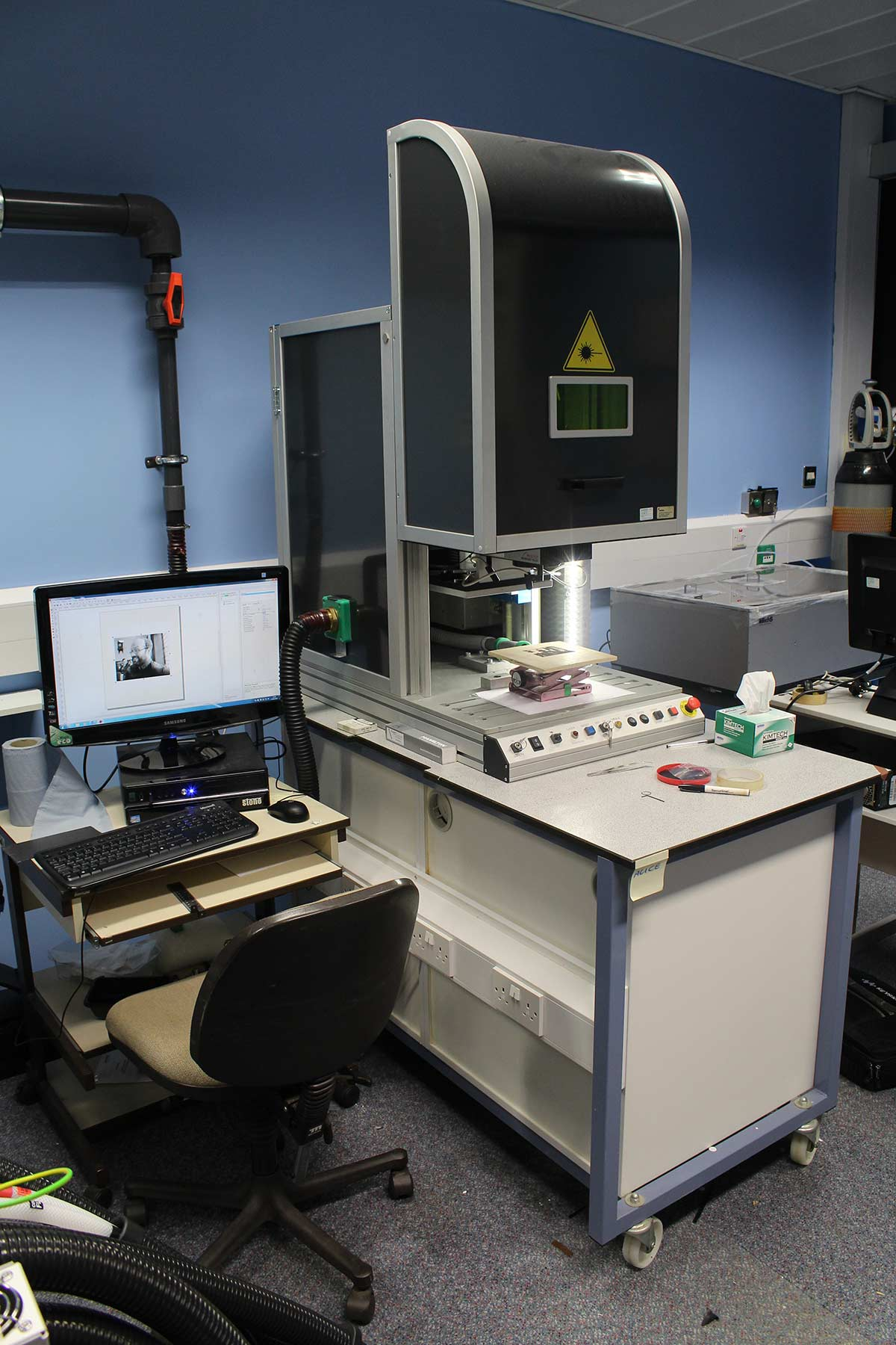 The Fundamental, Applied and Industrial Engineering Laboratories at Thornton