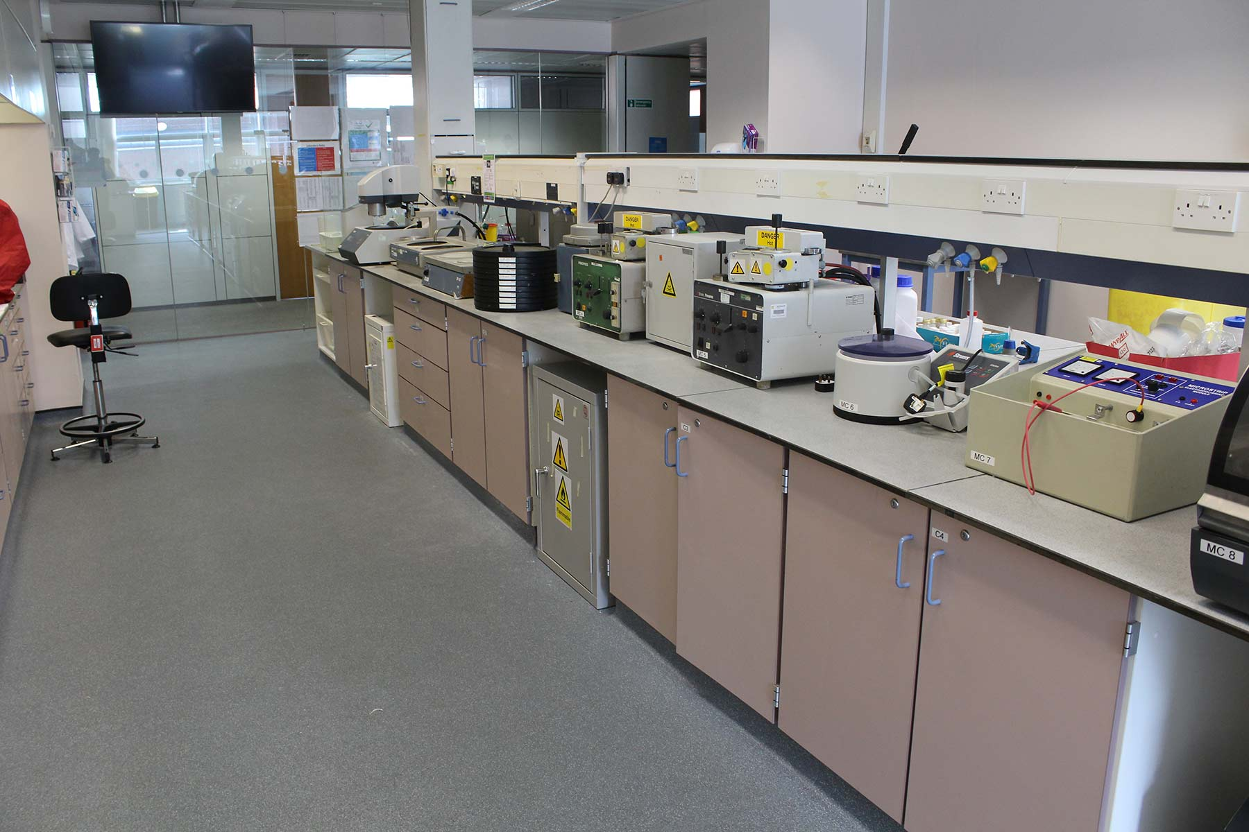 The Materials Preparation Laboratory at Thornton