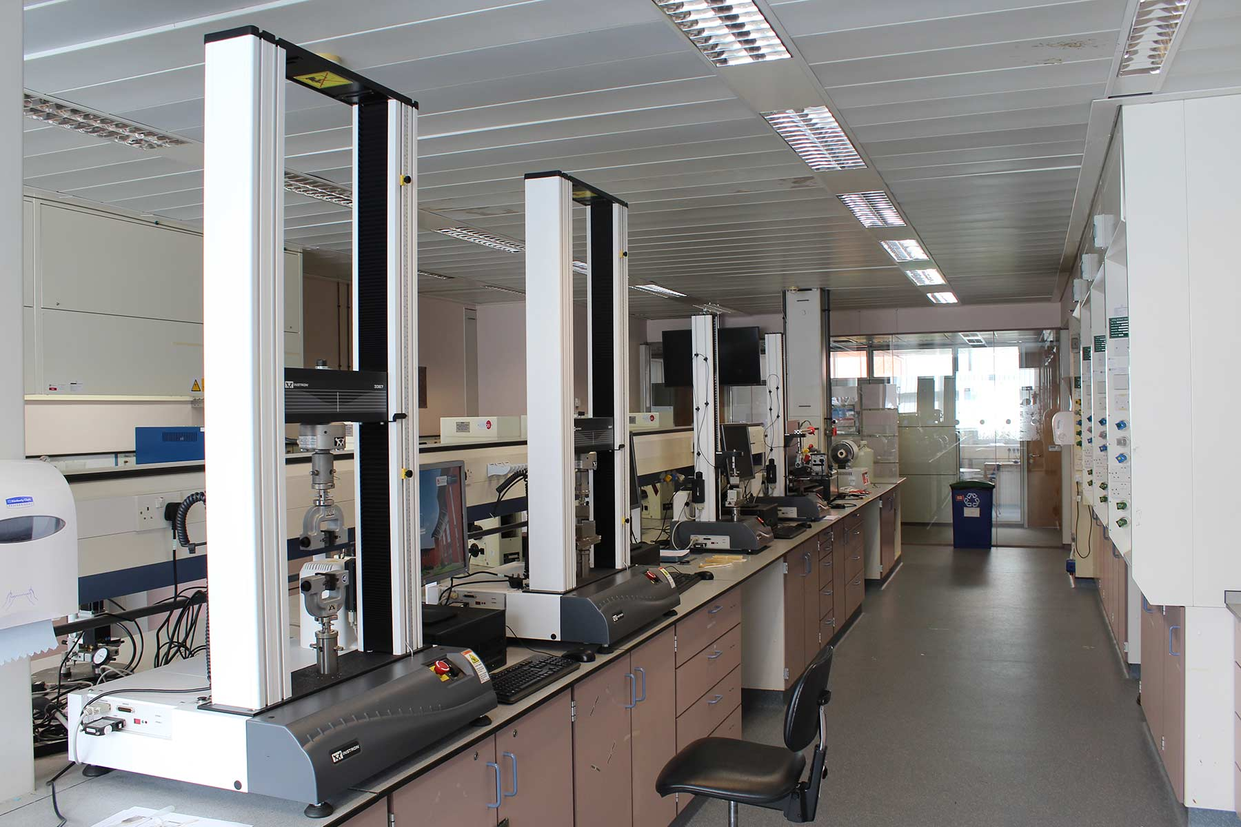 The Materials Testing Laboratory at Thornton