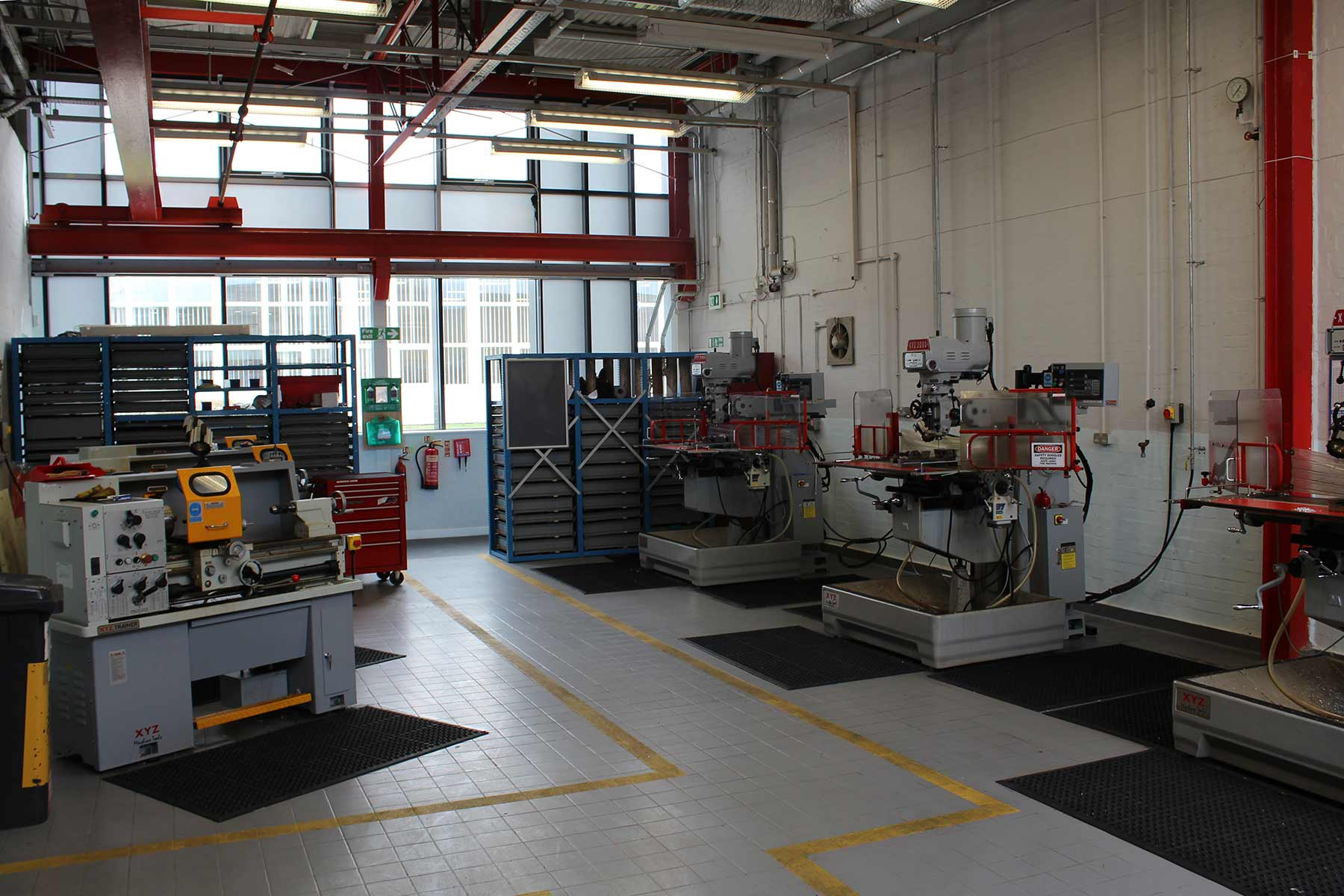 The Mechanical Workshop at Thornton