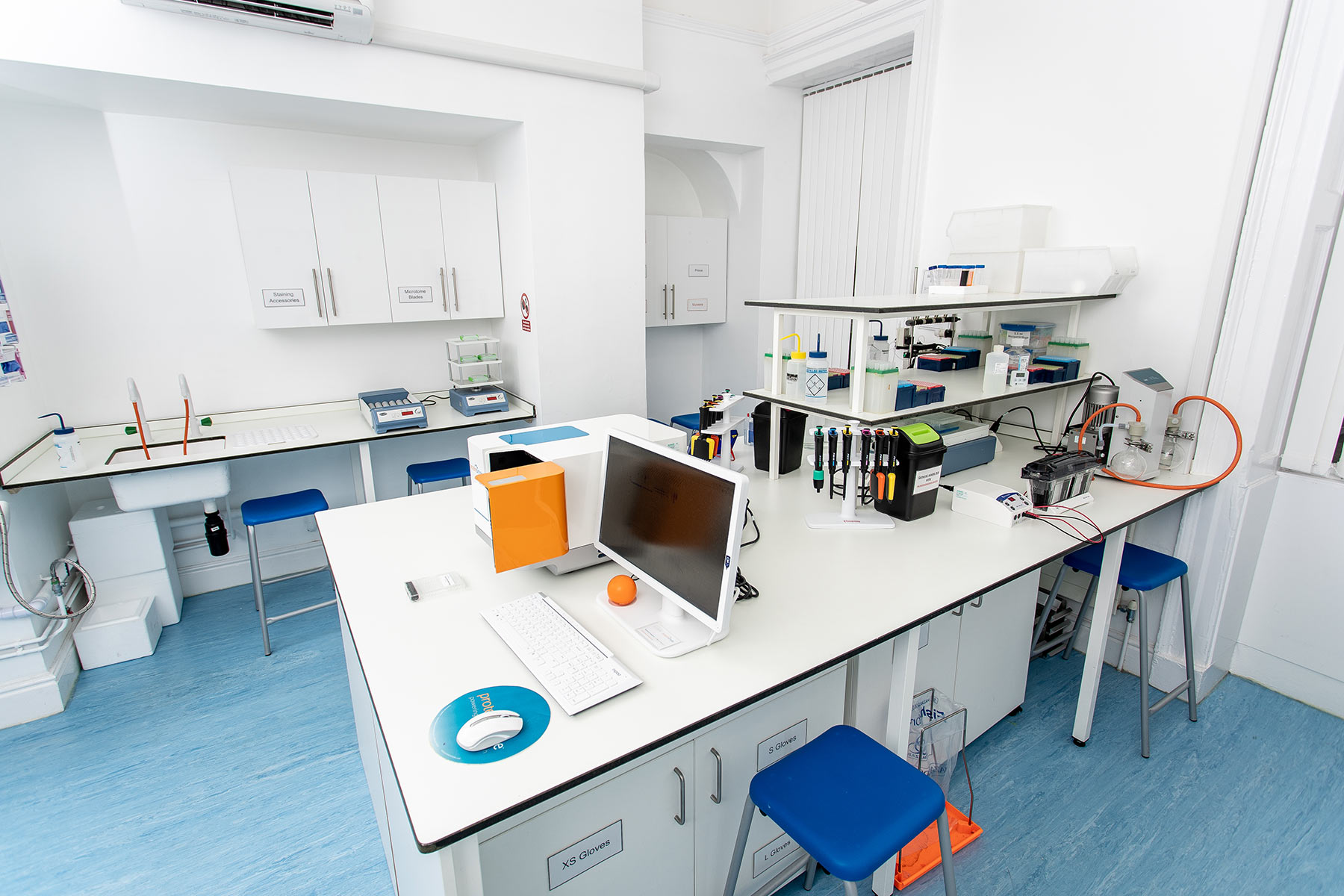 Protein Analysis facilities, Bache Hall