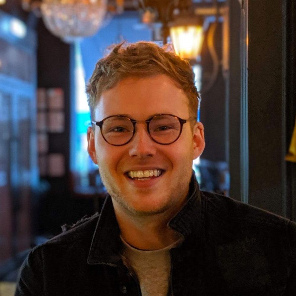 Image of Jack Muirhead, chemical engineering student
