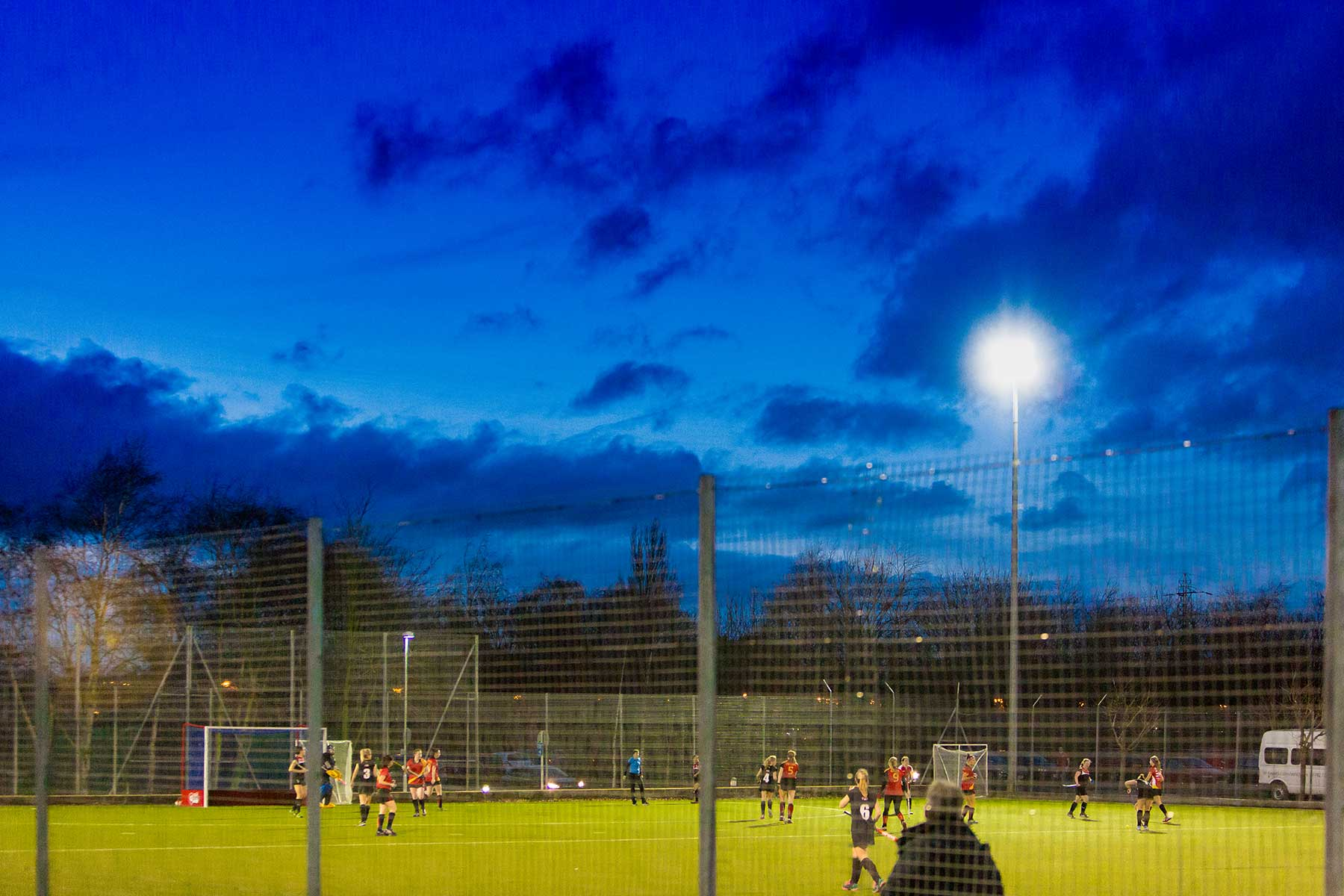 Chester's floodlit astro-turf pitch