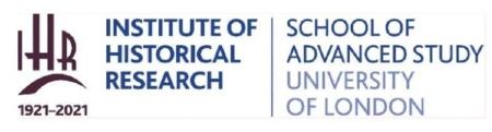 IHR - Advanced School of Study University of London logo image