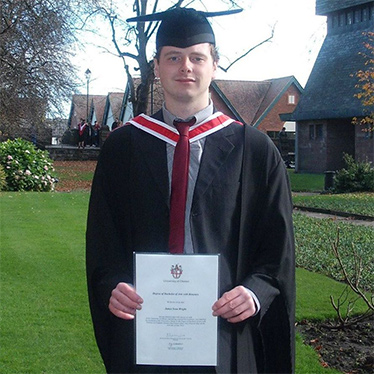 James Wright - Modern Language Graduate