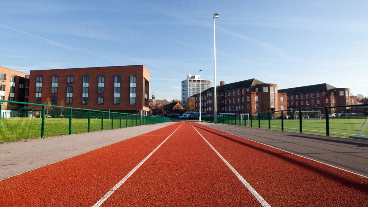 3 lane 60m Running Track