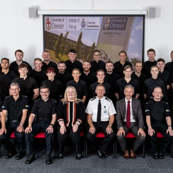 Institute of Policing welcomes the first intake of Cheshire Constabulary's Police Constable Degree Apprenticeships