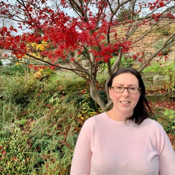 Lisa Owen, apprentice Grounds and Gardens Technician at the University of Chester
