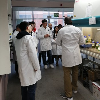 Engineering students from two Chinese universities are taking part in a three-month research programme at the University of Chester.