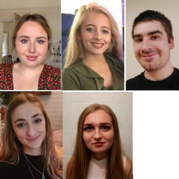 The students whose research has been featured in Playing Pasts