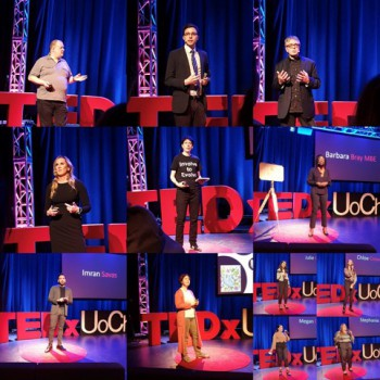 The presenters of the third TEDx talks at the University of Chester.