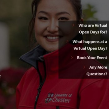 University welcomes prospective students to our Virtual Open Days