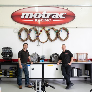 Motrac team in their workshop