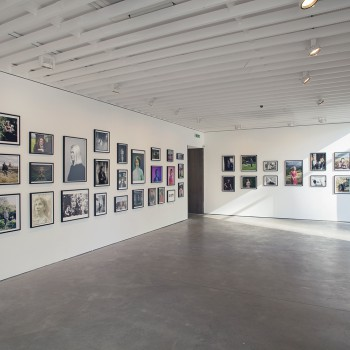 Shot of the exhibition, also taken by Tabitha Jussa.