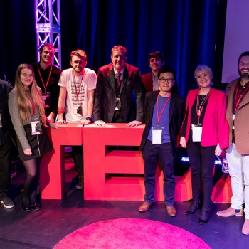 The presenters of the second TEDx talks at the University of Chester.