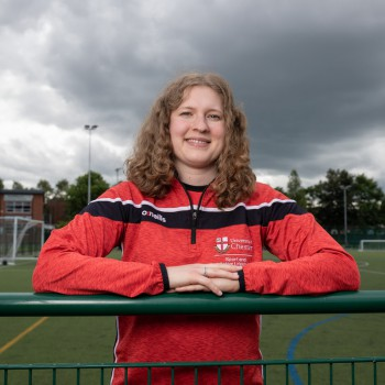 Ali Birkett, Development Officer in the University's Sport and Active Lifestyle team, has been shortlisted for a BUCS (British Universities and Colleges Sport) Unsung Hero of the Year award.