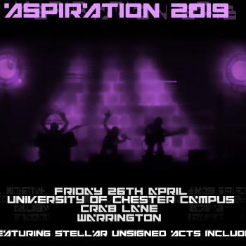 Aspiration Live Flyer 2019