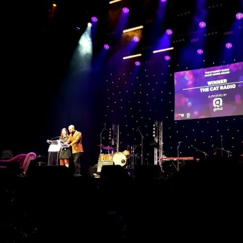 The Cat Radio wins at the Student Radio Awards.
