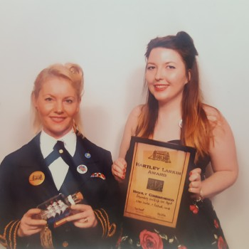 A project developed by two Nursing students at the University of Chester has received a national professional award.