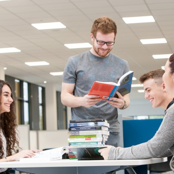 English students at the University of Chester