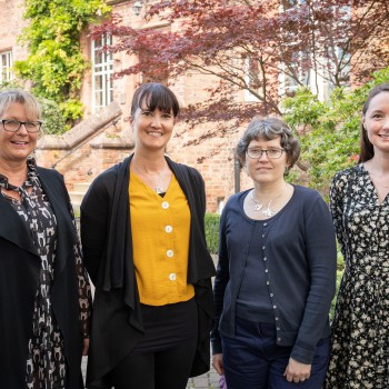 Dr Julie Mulliner, Marie-Anne O'Neil, Dr Elizabeth Christopher, Sarah MacLeod, all from the University of Chester.