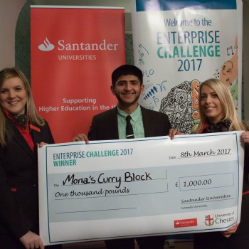 Last year's winner was Hamza Hussain.