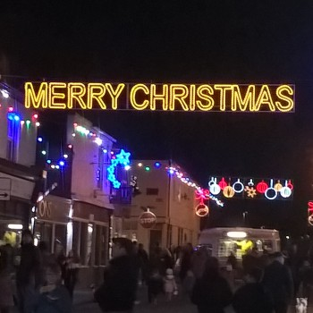 Hoole Christmas lights