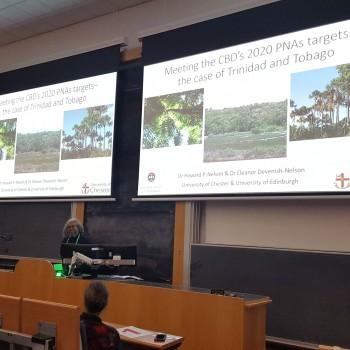 Dr Howard Nelson presenting