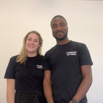 Jessica Critchley and Tolulope Arobieke, owners of Yourgaff Lettings.