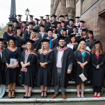 England's first Registered Nursing Associates following their graduation.
