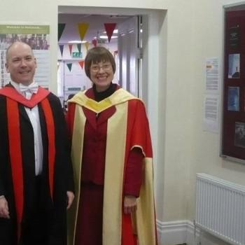 Professor Paul Middleton and Professor Elaine Graham