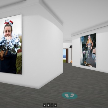 The People Project exhibition screenshot.