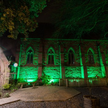The University of Chester is supporting The Clatterbridge Cancer Charity's #letsgogreen fund raising campaign.