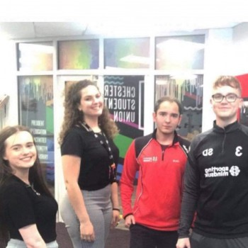 Chester Students' Union elected officers