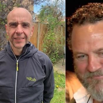 Dr Simon Gwyn Roberts and Ian Rasmussen
