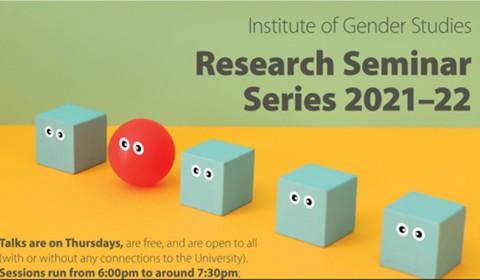 2021-22 IGS research seminar series poster image