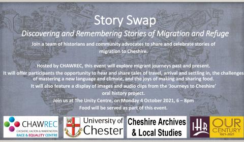 story swap event