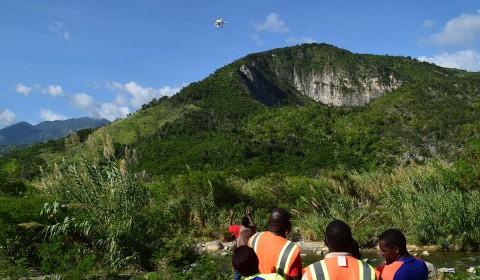 Landslide mapping, Jamaica