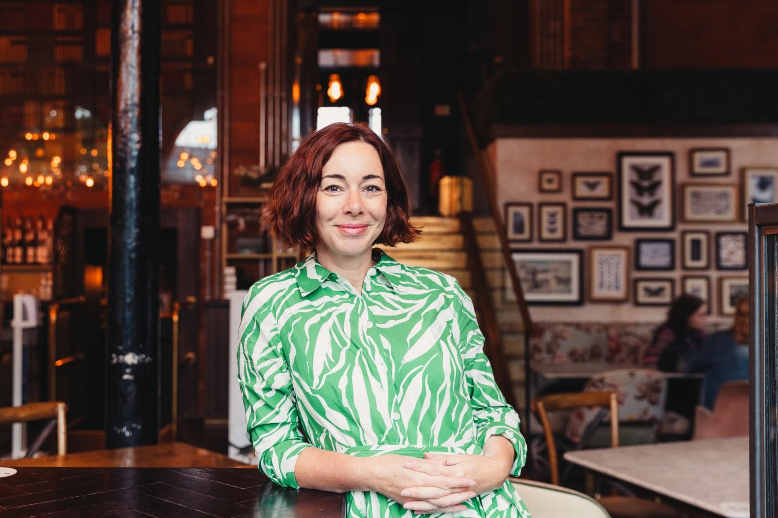 Kate Morris-Bates, owner of InsideOut Wellness.