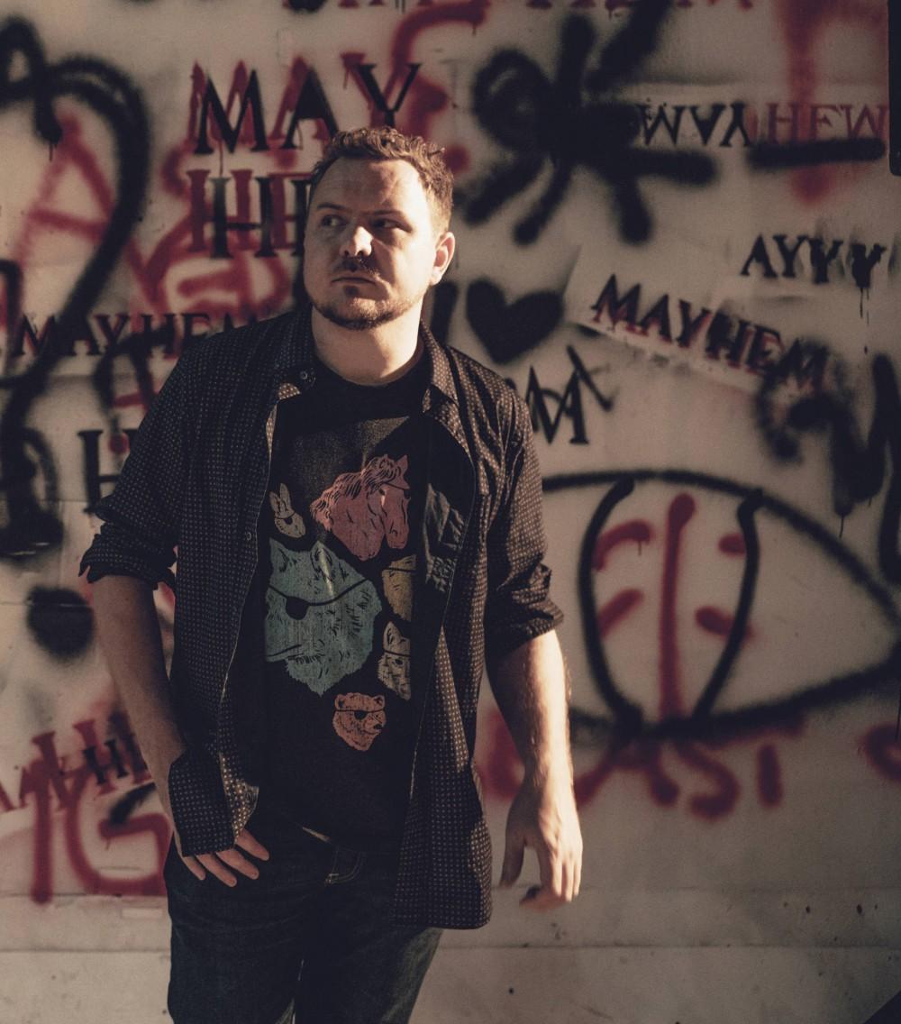 Poet and rapper Mark Grist.