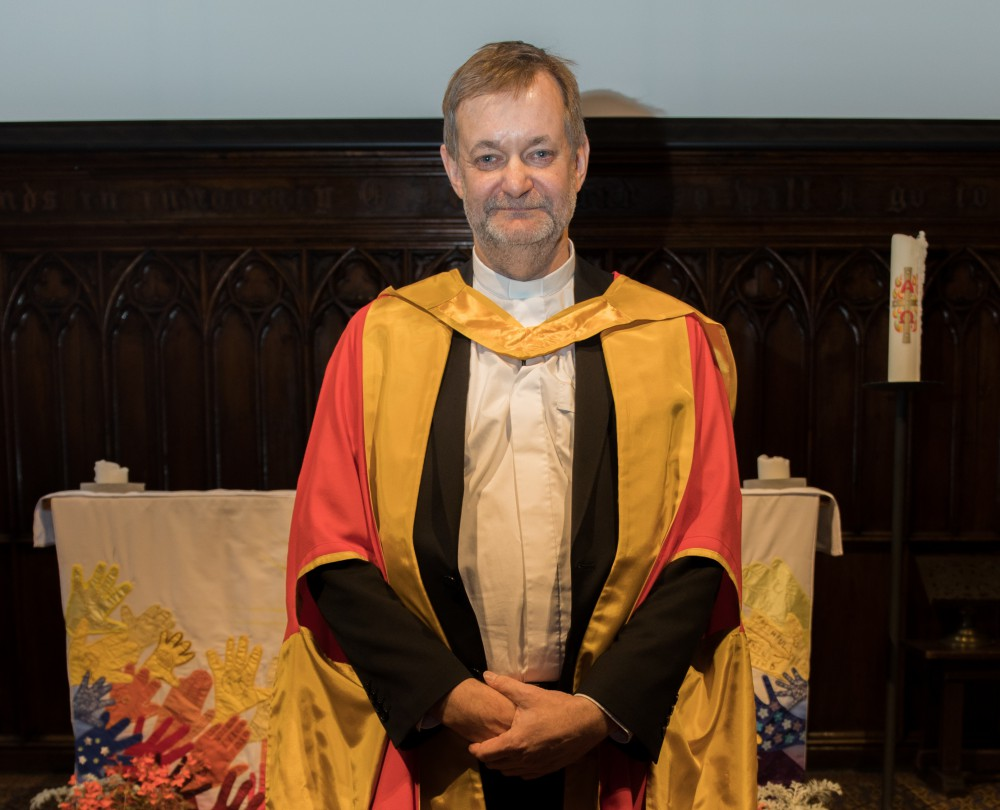 Rev Professor Peter Gubi