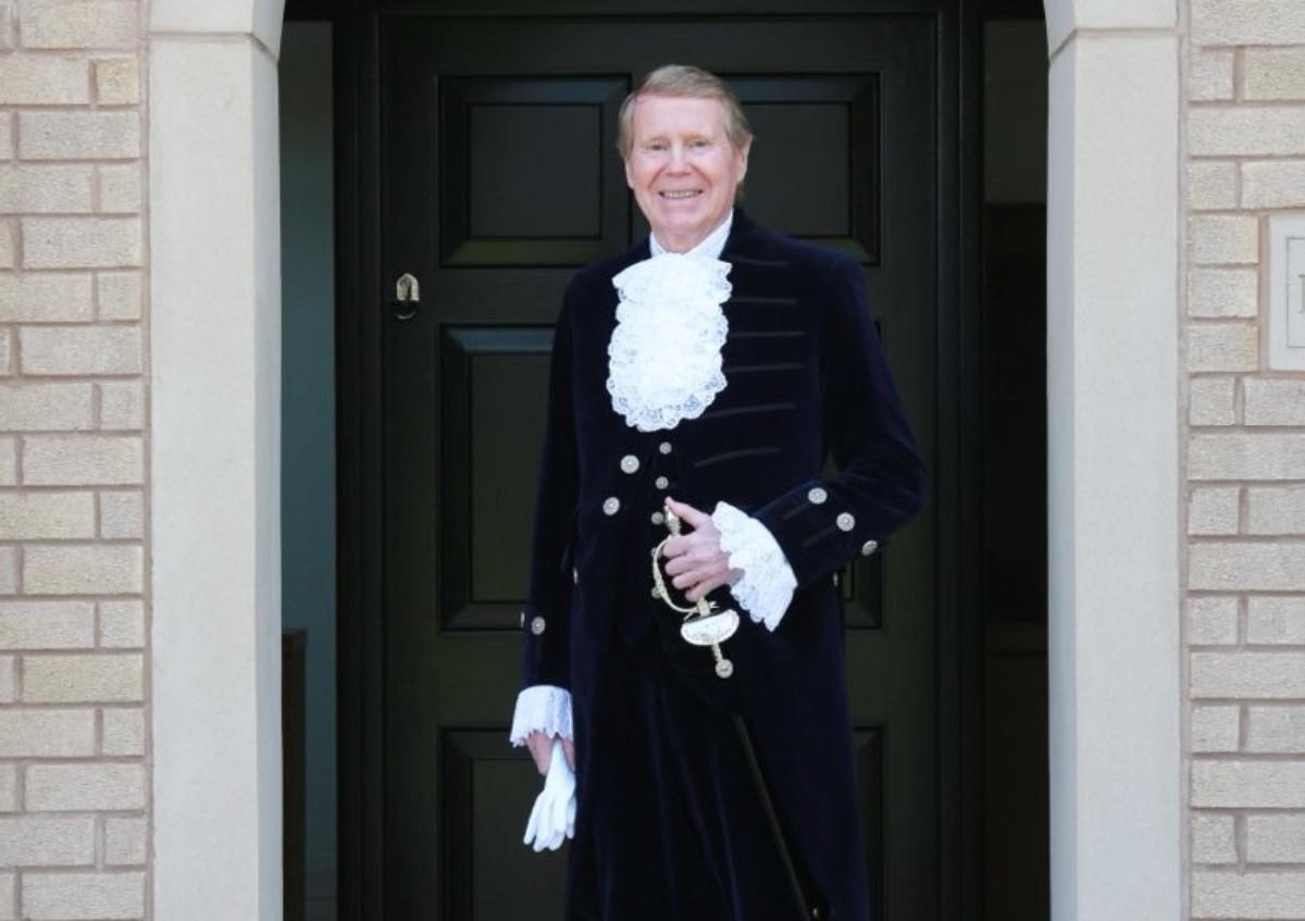 High Sheriff of Cheshire 2021/22, Robert Mee