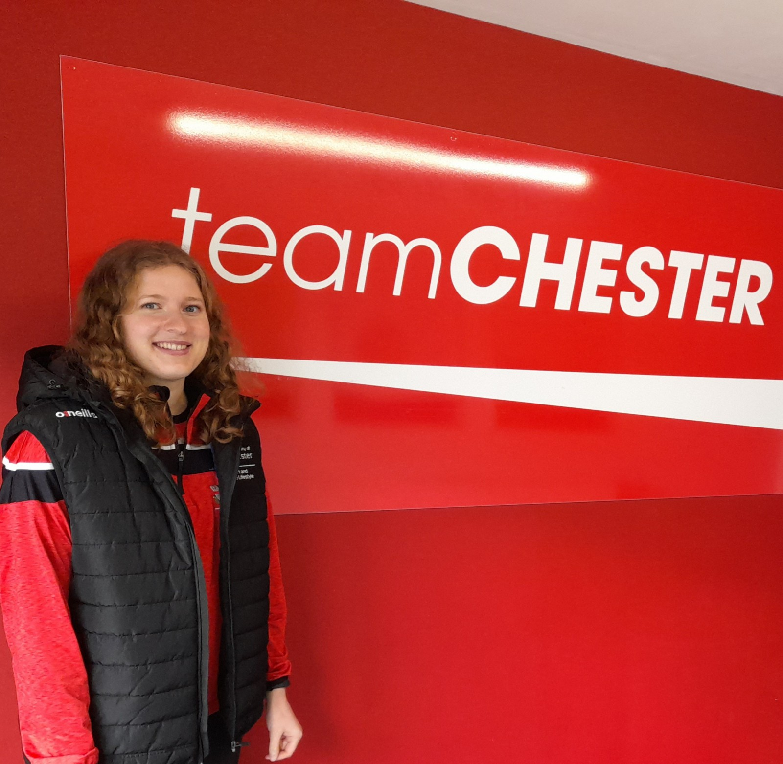 Ali Burkett from the University of Chester's Sport and Active Lifestyle Department.