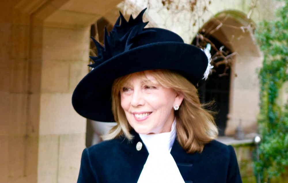 Alexis Redmond, the High Sheriff of Cheshire.