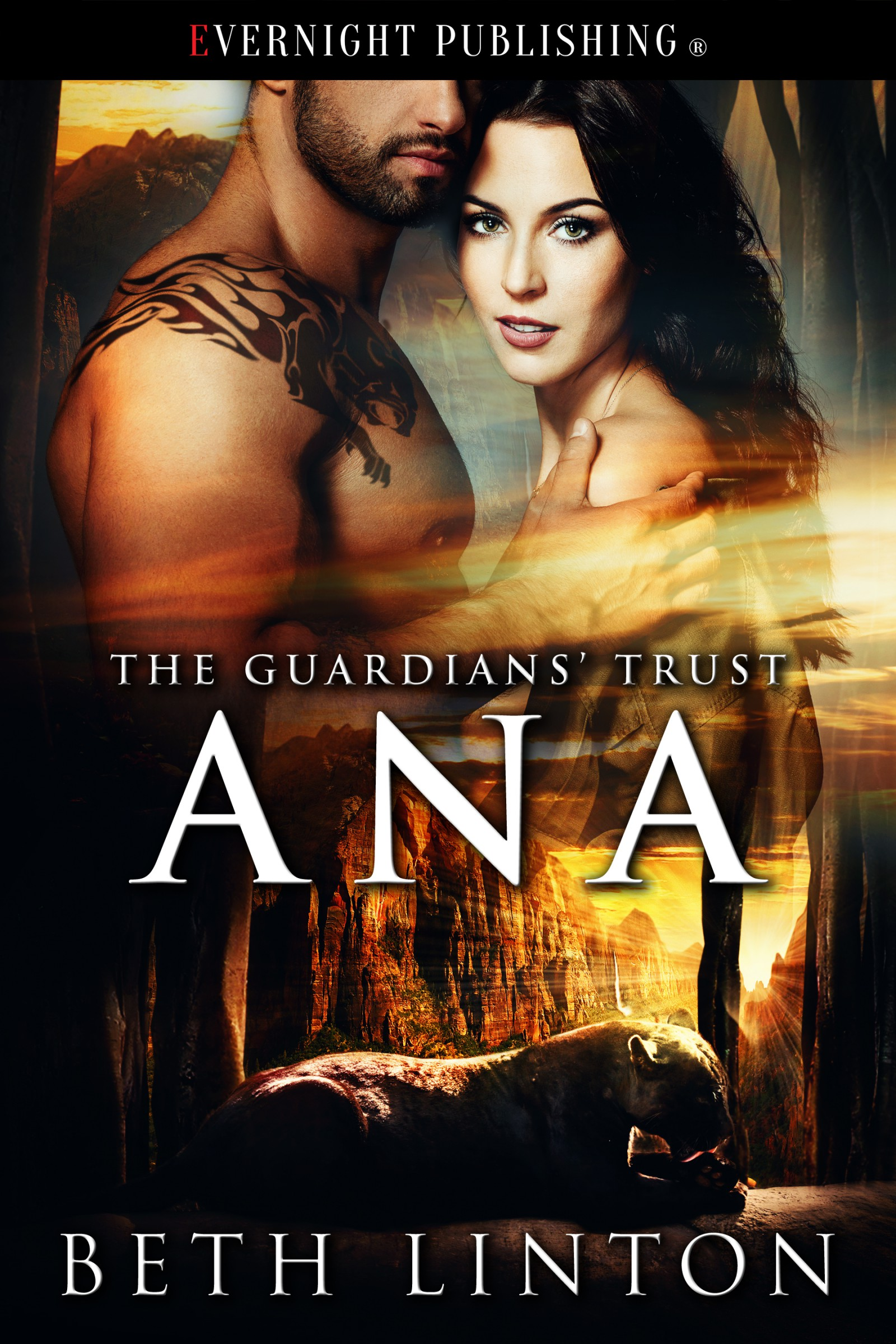 The cover of Beth Linton's first book The Guardians' Trust: Anna.