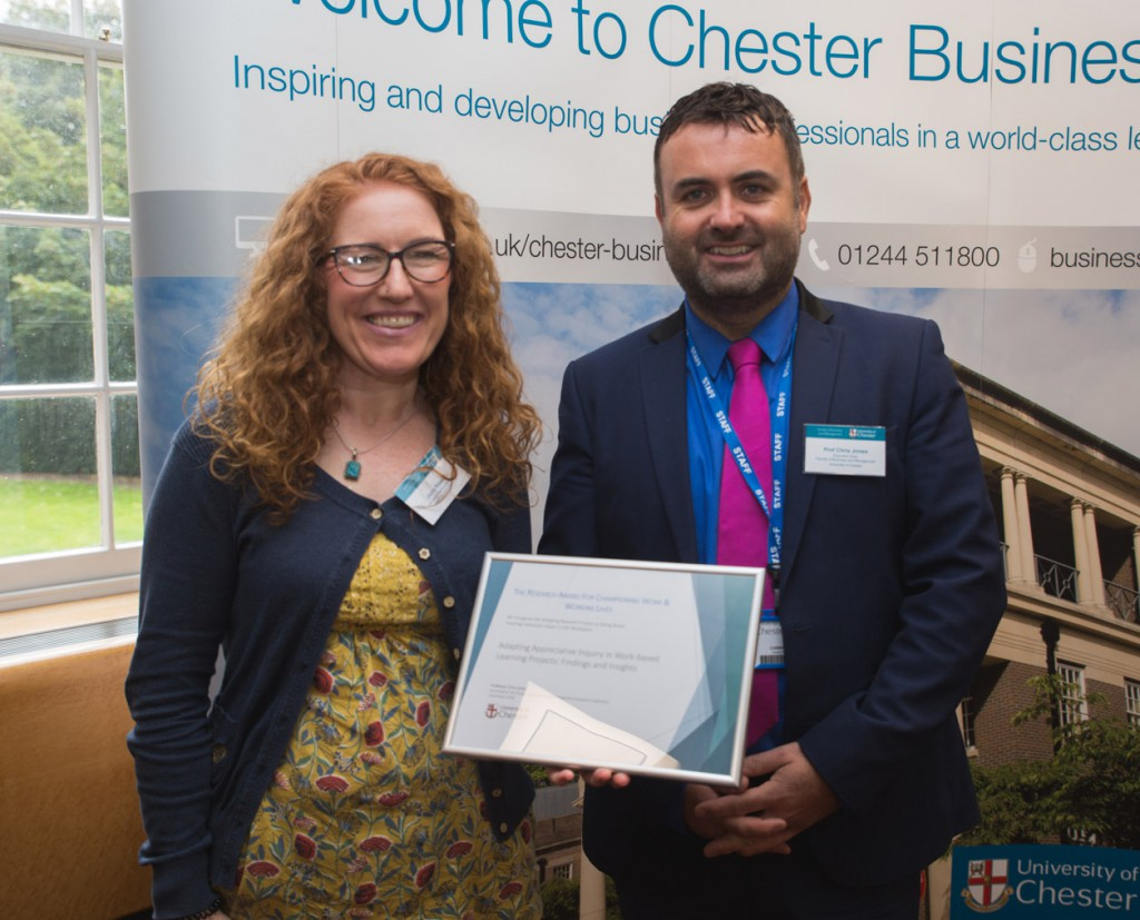Award Winner Jayne Russell - The Research Award for Championing Work & Working Lives