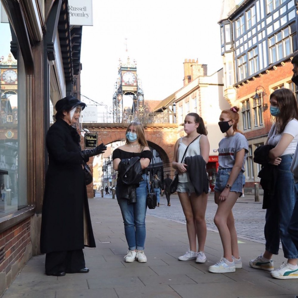 Welcome Week Ghost Tour Chester