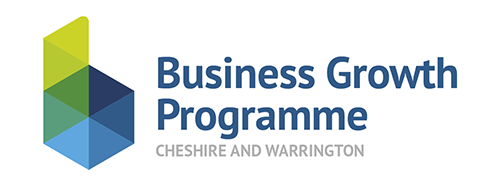 Cheshire and Warrington Business Growth Programme Logo