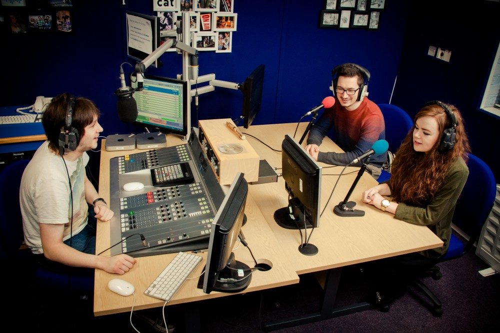 The Cat Radio Studio